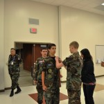 Cadet Eric Royalty is promoted to Cadet Airman First Class